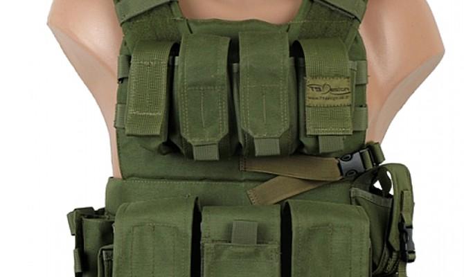 T9 - Light Assault Vest, military gear