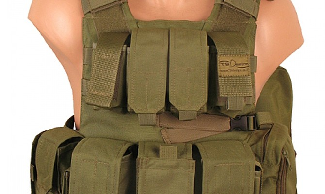 T9 - Light Paramedic Vests, army gear
