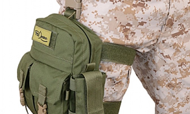 t9- Drop Leg Pouch, military accessories
