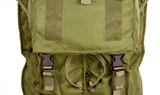 T9 - Folding Stretcher Carrier, military backpack